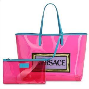Versace Neon hot pink Tote